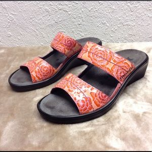 Mephisto Mobiles air relax sandals 38 8 flora